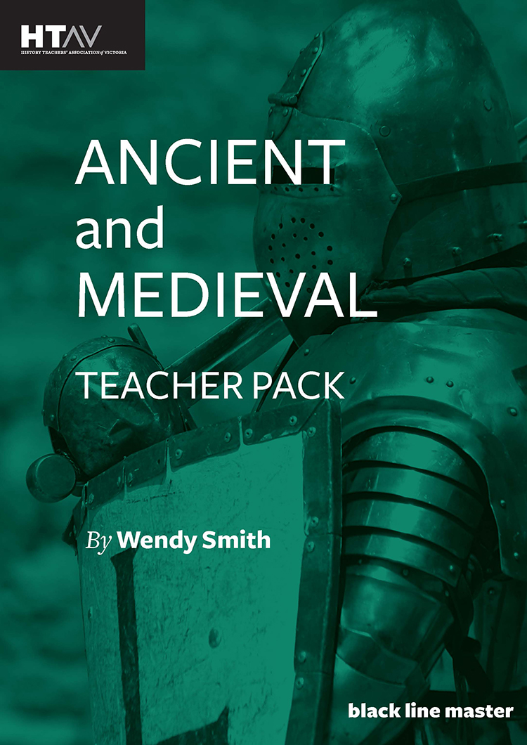 Front cover of the Ancient and Medieval Teacher Pack.
