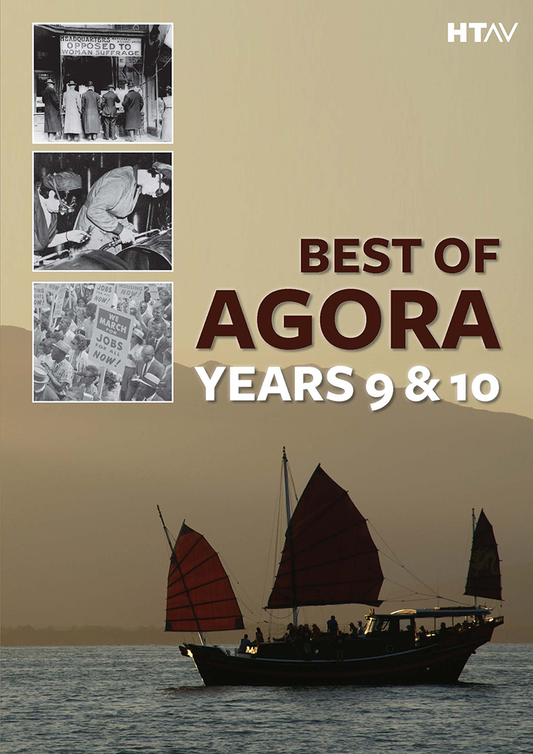 Front cover of Best of Agora: Years 9 and 10.