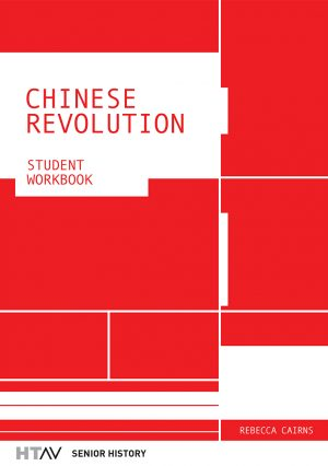 Front cover of the Chinese Revolution: Student Workbook.