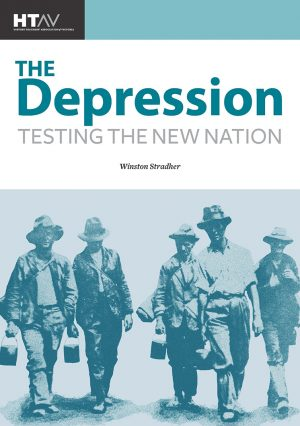 Front cover of The Depression: Testing the New Nation.