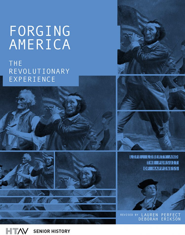 Front cover of Forging America, second edition.