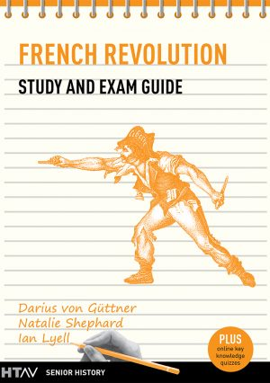 Front cover of French Revolution Study and Exam Guide.