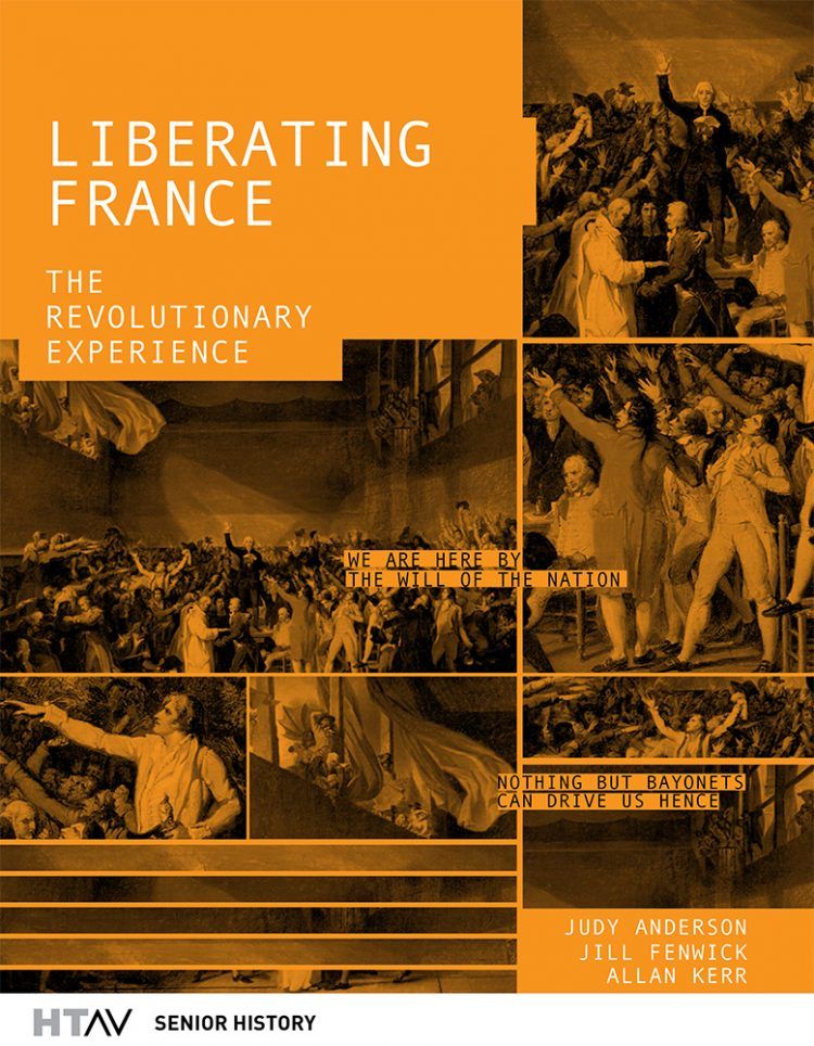 Front cover of Liberating France, second edition.