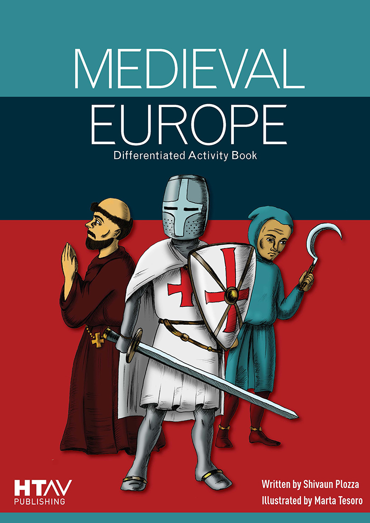 Front cover of Medieval Europe: Differentiated Activity Book.