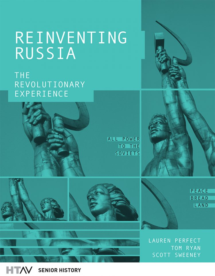 Front cover of Reinventing Russia, second edition.