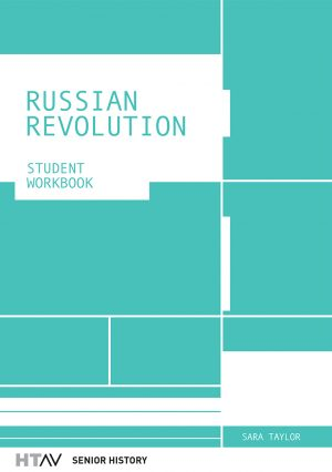 Front cover of the Russian Revolution: Student Workbook.