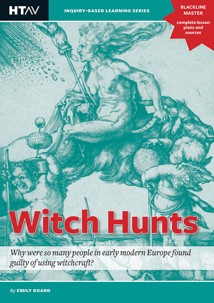 Front cover of Witch Hunts.