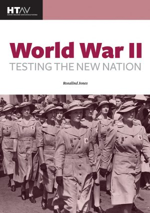 Front cover of World War II: Testing the New Nation.