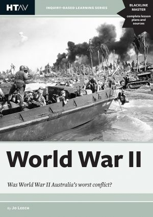 Front cover of World War II: Was World War II Australia's worst conflict?