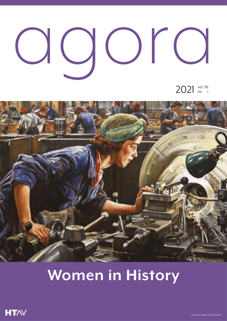 Agora - Women in History issue cover