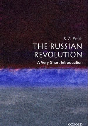 Book cover for The Russian Revolution: A Very Short Introduction.