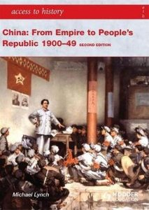 Book cover for China: From Empire to People's Republic.