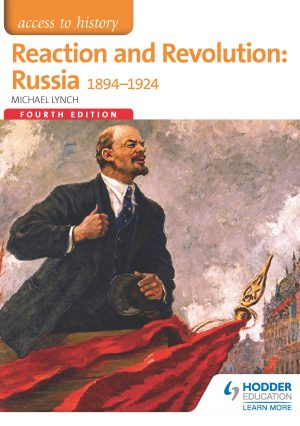 Book cover for Reaction and Revolution: Russia, 1894 to 1924.