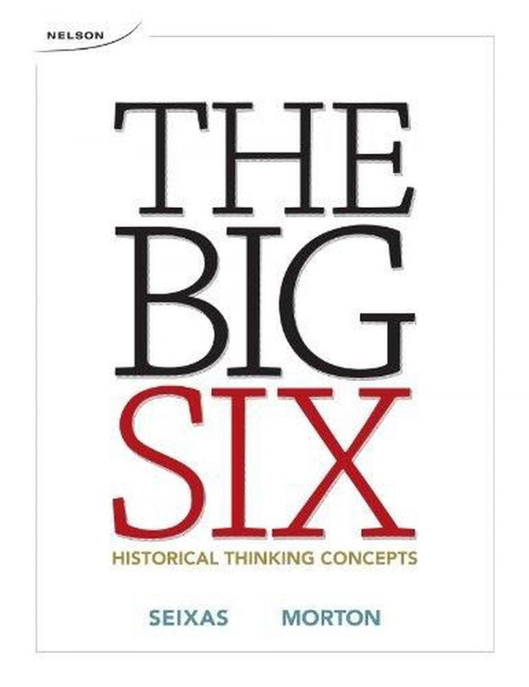 Book cover for the Big Six.