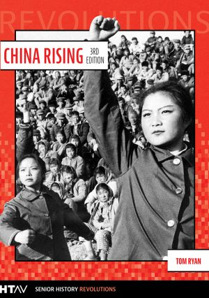 Book cover for China Rising 3rd edition