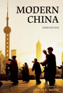 Book cover for Modern China.