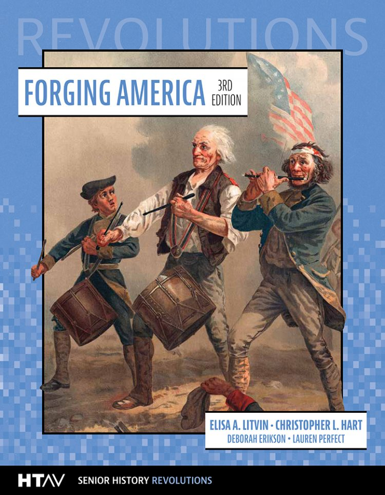 Book cover for Forging America 3rd edition