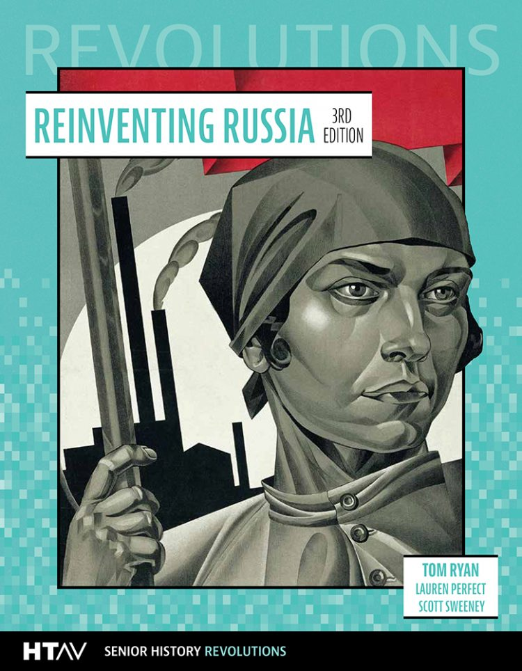 Book cover for Reinventing Russia 3rd edition