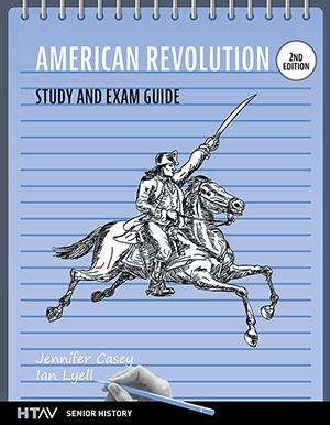 cover for American Revolution Study and Exam Guide, 2nd ed
