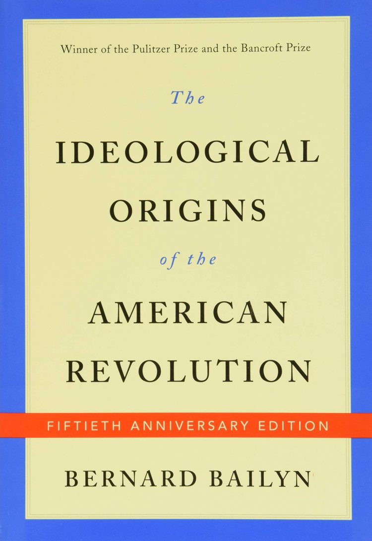 Book cover for The Ideological Origins of the American Revolution.