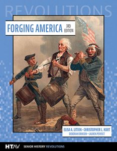 Front cover for Forging America, third edition.
