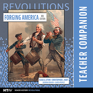 Cover for Forging America Teacher Companion
