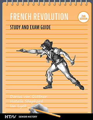 Cover for French Revolution Study and Exam Guide, 2nd ed