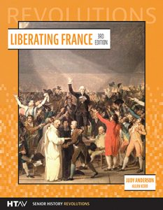 Front cover for Liberating France, third edition.