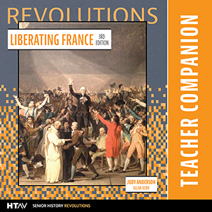 Cover for Liberating France Teacher Companion