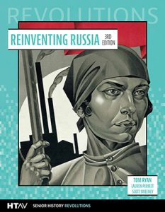 Front cover for Reinventing Russia, third edition.