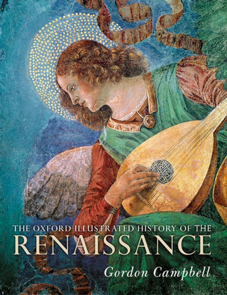 Book cover of The Oxford Illustrated History of the Renaissance.