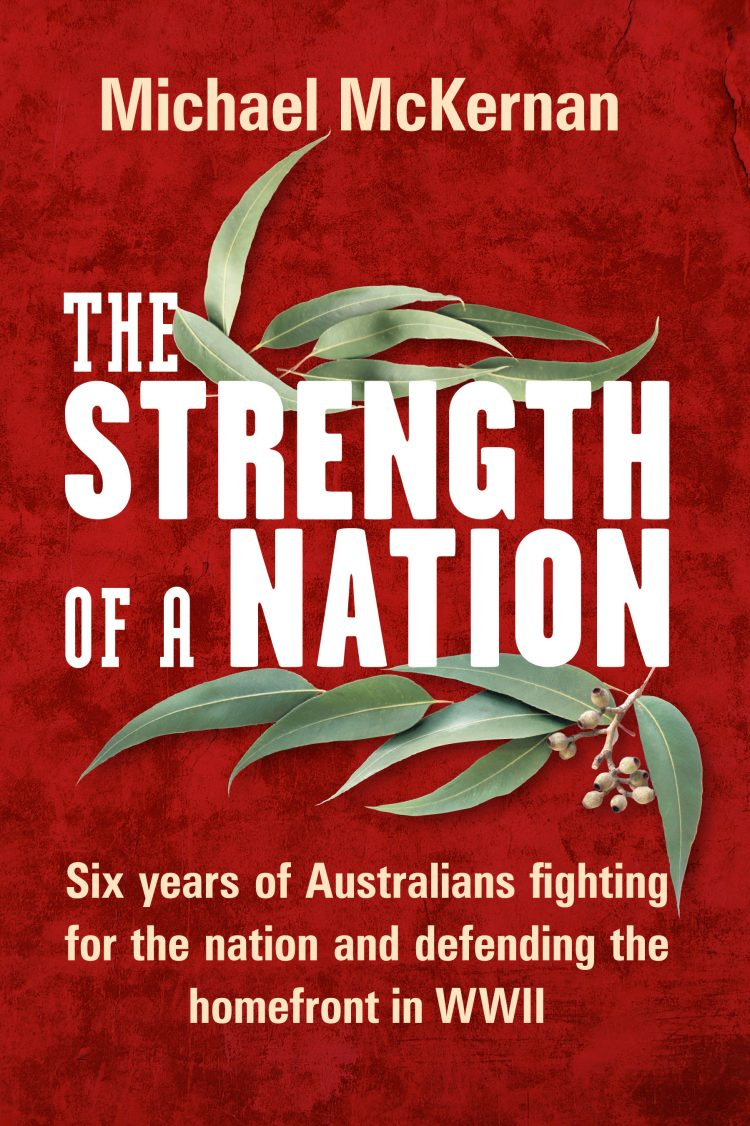 Book cover for The Strength of a Nation by Michael McKernan